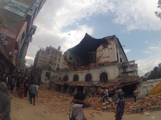 Kathmandu Devastation